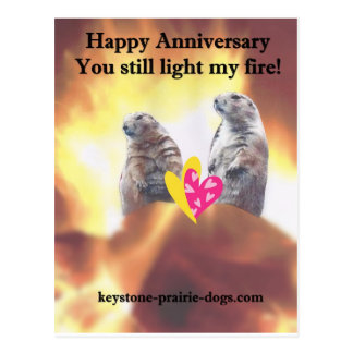 Aniversario feliz postal