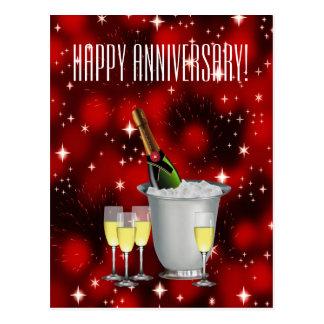 ¡Aniversario feliz! ~ Postal