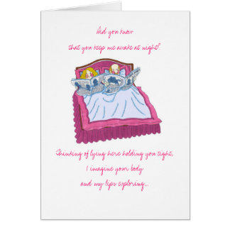 Aniversario feliz. .snoring felicitacion