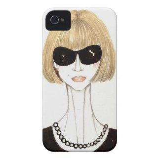 Anna Wintour iPhone 4 Carcasas