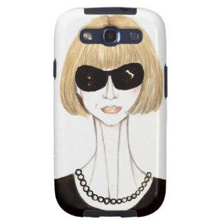 Anna Wintour Samsung Galaxy S3 Cárcasas