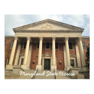 Annapolis céntrico histórico Maryland Postal