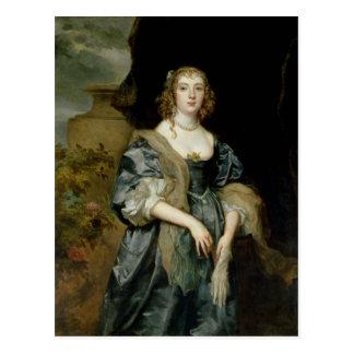 Anne Carr, condesa de Bedford, c.1638 Postal