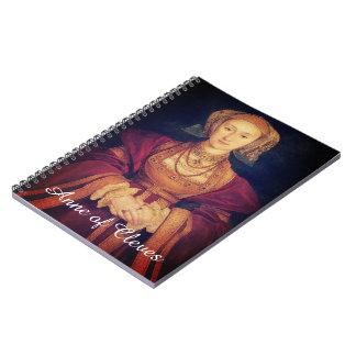 Anne del cuaderno espiral de Cleves