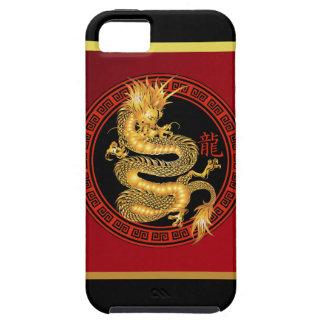 Año chino adornado del dragón iPhone 5 carcasa