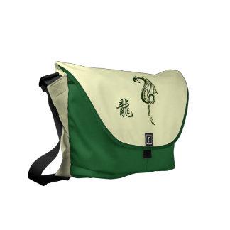 Año chino de la bolsa de mensajero del dragón bolsas de mensajería