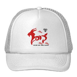 Año chino de los gorras del camionero del regalo