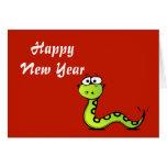 Año chino de Tet del vietnamita del Año Nuevo de l Tarjeton
