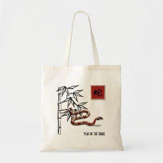 Año chino del bolso del regalo de la serpiente bolsa tela barata