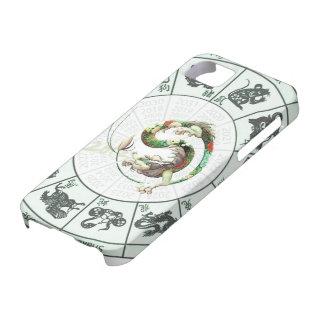 Año chino del dragón 2012 iPhone 5 Case-Mate carcasas