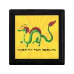 Año chino del dragón caja de regalo