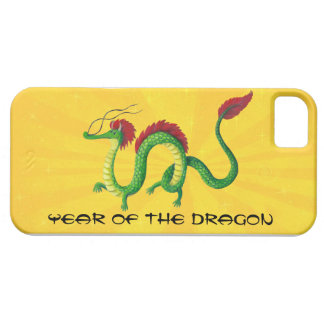 Año chino del dragón iPhone 5 carcasas