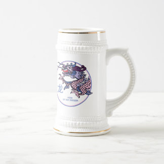 Año chino del dragón jarra de cerveza