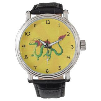 Año chino del dragón relojes