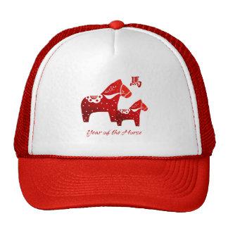 Año chino del gorra del regalo del caballo