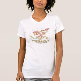 Año chino y vietnamita del dragón camisetas