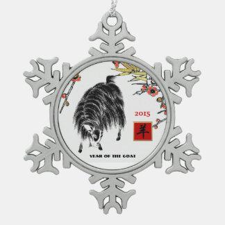 Año de 2015 chinos de los ornamentos de la adorno