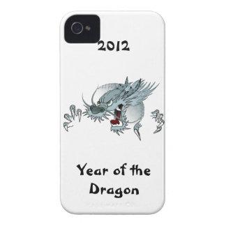 Año de Barely There 4/4S de la casamata del dragón iPhone 4 Cárcasas