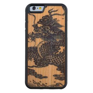 """""""Año de caja del teléfono del dragón """" Funda De iPhone 6 Bumper Cerezo"""