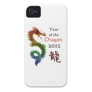Año de la caja intrépida 2012 de Blackberry del Case-Mate iPhone 4 Cárcasas