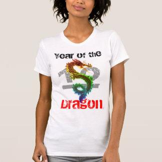 Año de la camisa 2012 del dragón