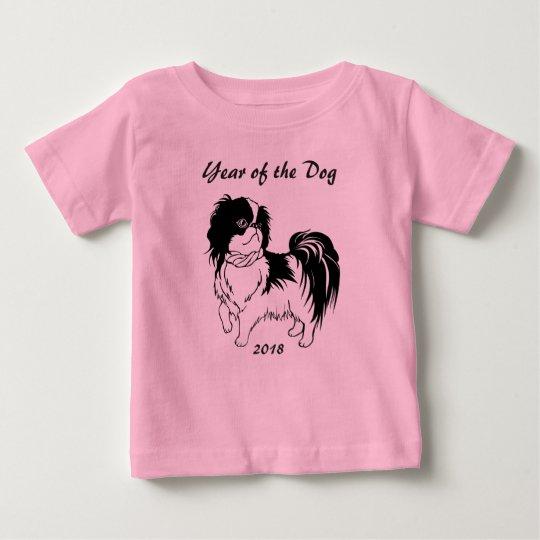 Año de la camisa china del bebé del Año Nuevo del