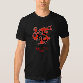 Año de las camisetas del dragón 2012