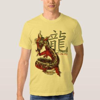 Año de las camisetas ligeras del dragón 2012