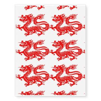 """""""Año de tatuaje del dragón """" Tatuajes Temporales"""