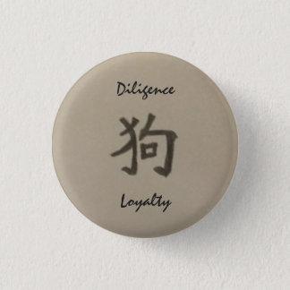 Año del botón de la diligencia/de la lealtad del