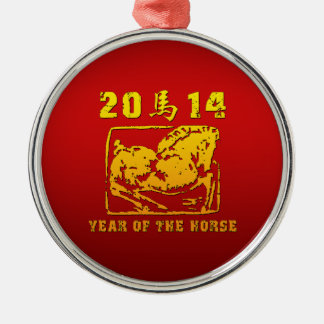Año del caballo 2014 adornos