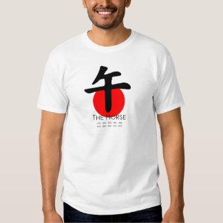 Año del caballo camisetas