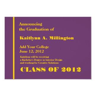 Año del cambio de la graduación de la universidad comunicado personal