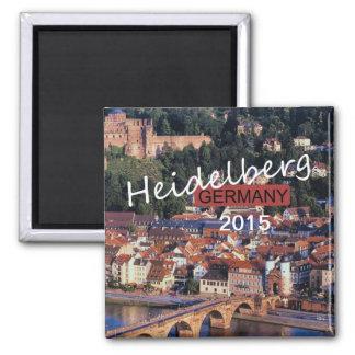 Año del cambio del imán del recuerdo de Heidelberg