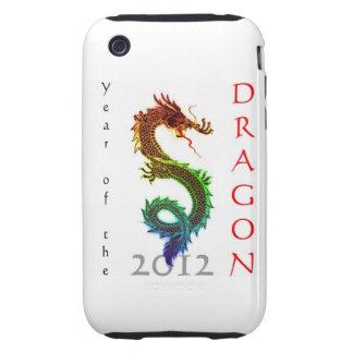Año del caso 2012 del iPhone 3G/3GS del dragón Tough iPhone 3 Carcasas