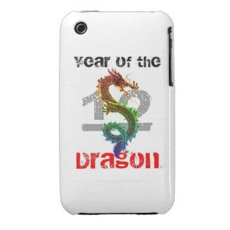 Año del caso 2012 del iPhone 3G/3GS del dragón Case-Mate iPhone 3 Fundas