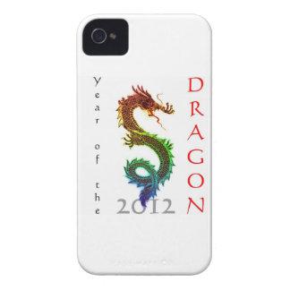 Año del caso 2012 del iPhone 4/4S del dragón Case-Mate iPhone 4 Cobertura