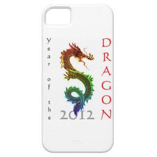 Año del caso 2012 del iPhone 5 del dragón iPhone 5 Case-Mate Cobertura