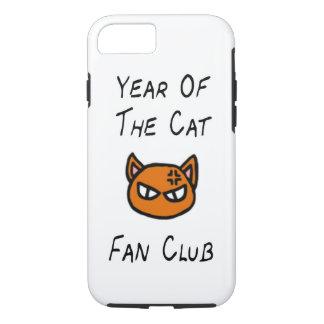 Año del caso del club de fans del gato funda iPhone 7