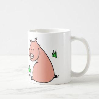 Año del cerdo taza de café
