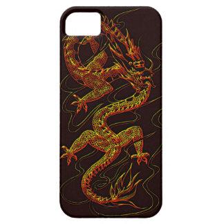Año del diseño asiático del dragón del dragón iPhone 5 Case-Mate protectores