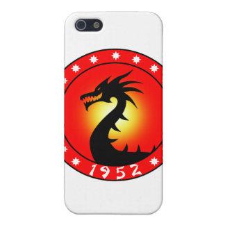 Año del dragón 1952 iPhone 5 carcasas