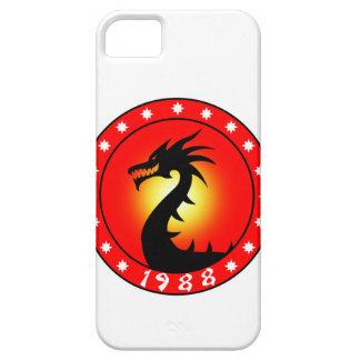 Año del dragón 1988 iPhone 5 Case-Mate protectores