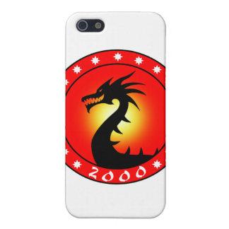 Año del dragón 2000 iPhone 5 protectores