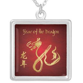 Año del dragón 2012 - Año Nuevo chino Collar