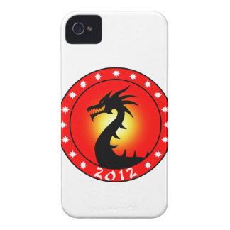 Año del dragón 2012.png Case-Mate iPhone 4 carcasa