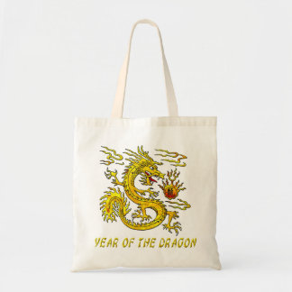 Año del dragón bolsas de mano