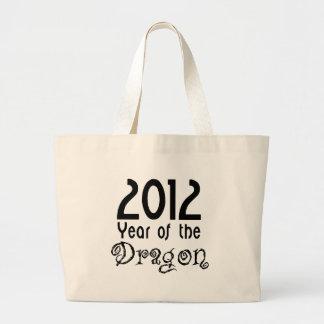 Año del dragón bolsa de mano
