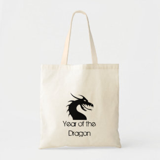 Año del dragón - cabeza del dragón bolsa de mano