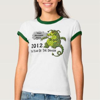 Año del dragón camiseta